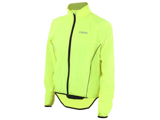 ProViz Windproof Jas Heren geel/groen